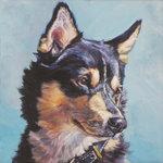 Нарисованная собака лапинпорокойра