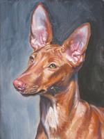 Нарисованная фараонова собака